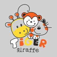 TIGER AND GIRAFFE
