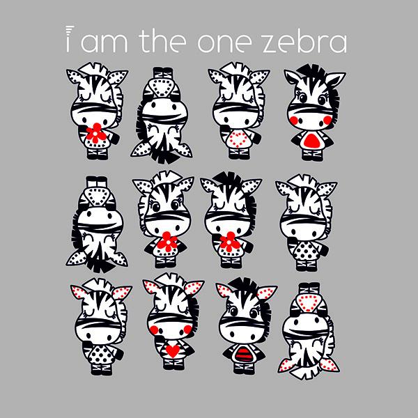 I AM THE ZEBRA