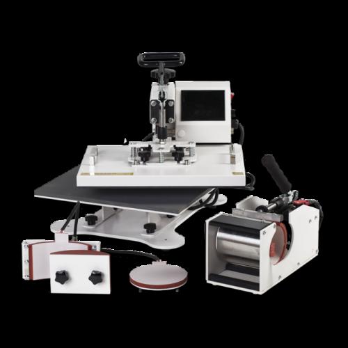 Термопресс Transfer Kit 6 в 1 многофункциональный
